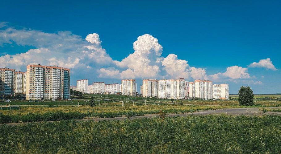 Почвы и местность Суворовского.