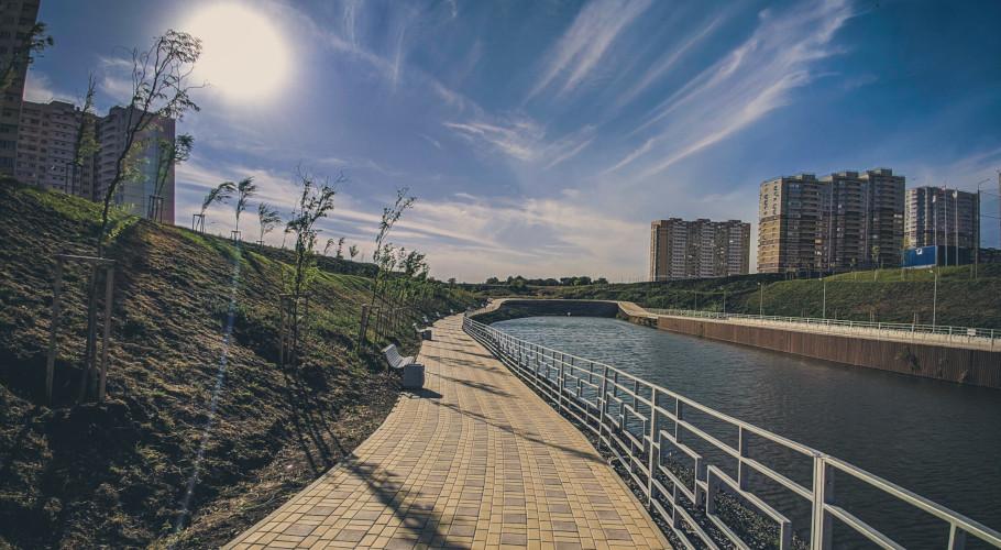 Спортивно-парковый комплекс Чадр в Суворовском.
