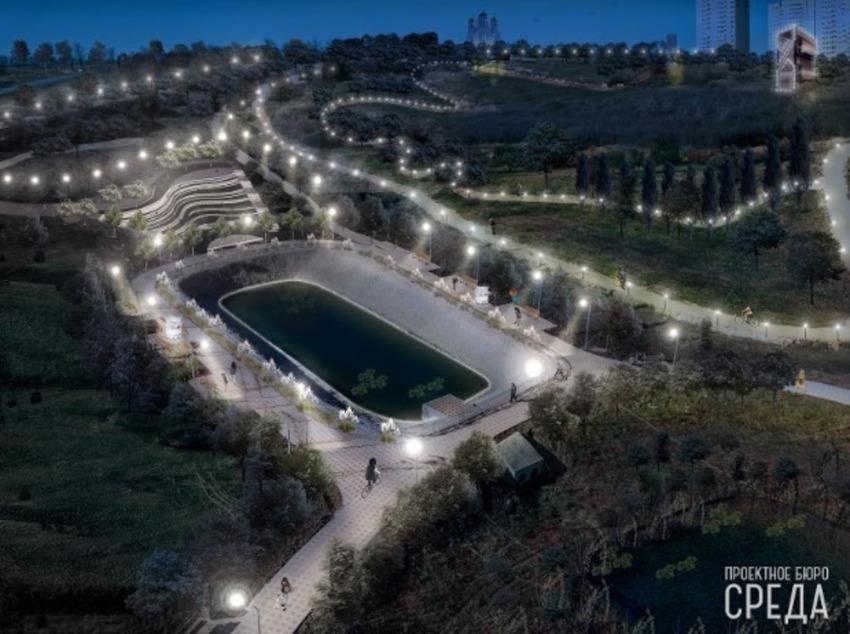 Проект парка в ЖК Суворовский