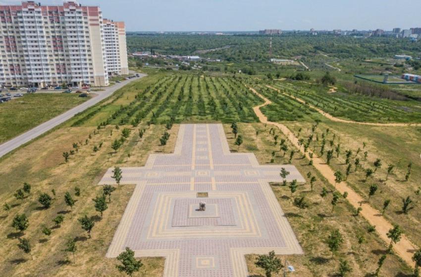 Парк Победы в ЖК Суворовский. Вид 1.