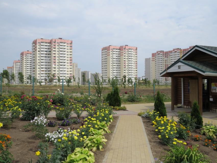 Парк Победы в ЖК Суворовский. Вид 4.
